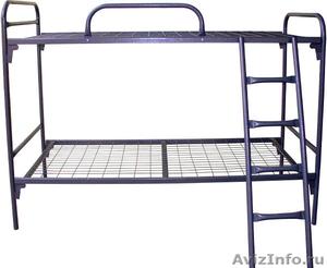 Кровати двухъярусные, кровати железные, кровати одноярусные, кровати для больниц - Изображение #4, Объявление #651180