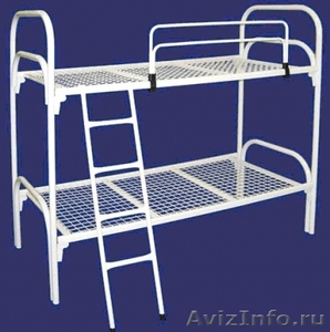 Кровати двухъярусные, кровати железные, кровати одноярусные, кровати для больниц - Изображение #3, Объявление #651180