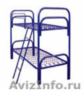 Кровати для больницы оптом, кровати двухъярусные для рабочих, кровати  - Изображение #2, Объявление #689246