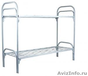 кровати двухъярусные для строителей, кровати для санатория - Изображение #1, Объявление #900085
