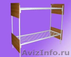 кровати двухъярусные для строителей, кровати для санатория - Изображение #2, Объявление #900085