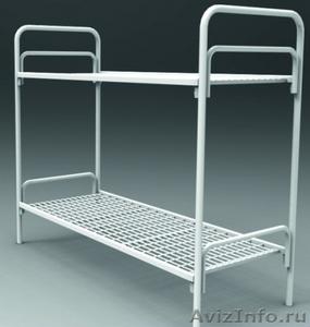 Армейские металлические кровати, кровати для рабочих, металлические кровати опт - Изображение #2, Объявление #1478849