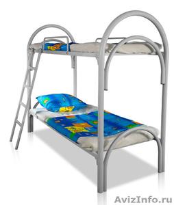 Армейские металлические кровати, кровати для рабочих, металлические кровати опт - Изображение #7, Объявление #1478849