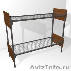 Кровати металлические трёхъярусные, кровати для школ, кровати оптом. - Изображение #1, Объявление #1479516