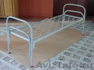 Армейские металлические кровати, кровати для рабочих, металлические кровати опт - Изображение #1, Объявление #1478849