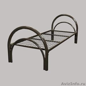 Армейские металлические кровати, кровати для рабочих, металлические кровати опт - Изображение #5, Объявление #1478849