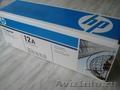 Картридж Q2612A,  HP LaserJet 12A,  оригинальный,  новый в упаковке.