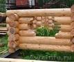 сруб бани,  колодцы,  скамейки