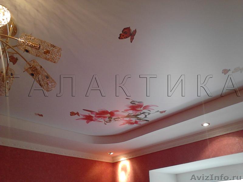 Натяжные потолки брянск фото