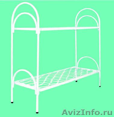 Армейские металлические кровати, кровати для рабочих, металлические кровати опт, Объявление #1478849